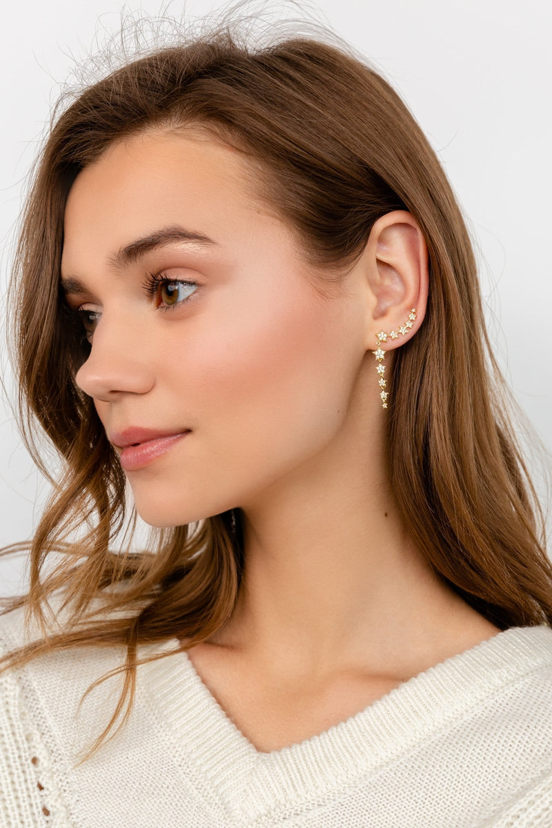 Star Beam Earrings