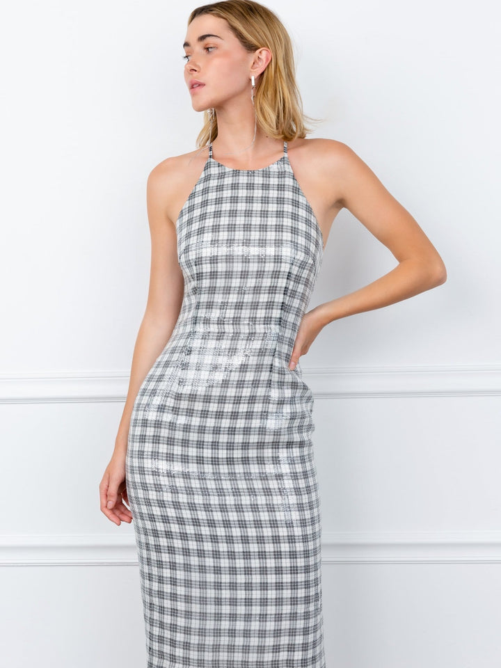 Georgie Gingham Midi Dress
