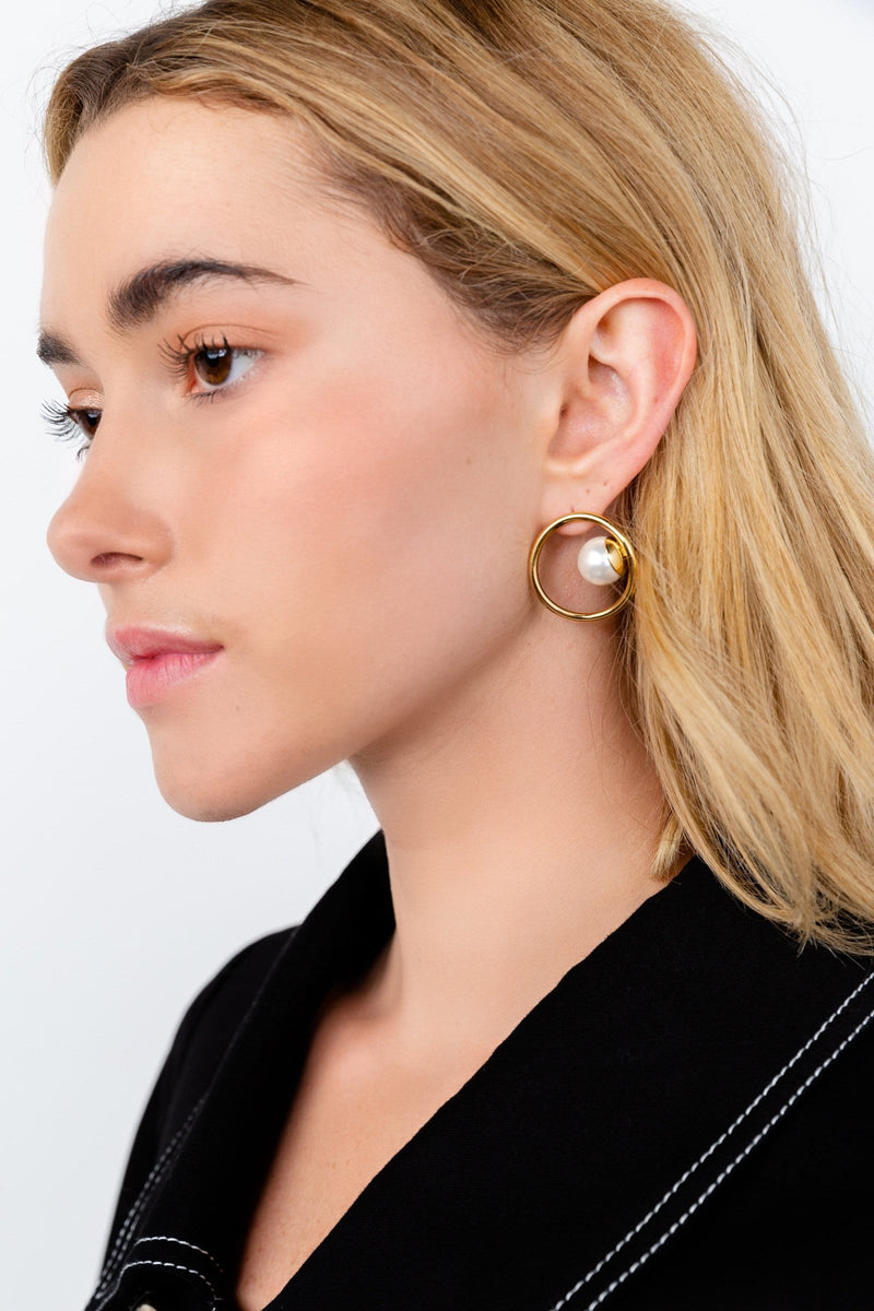 Curveball Earrings