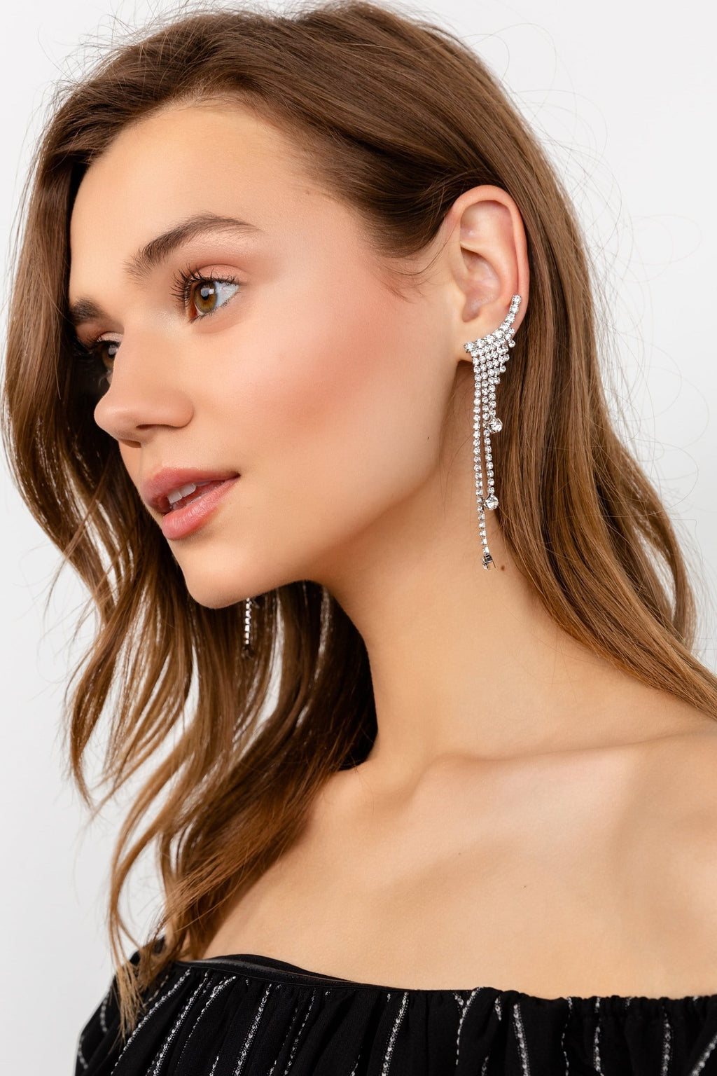 Crest Drip Earrings