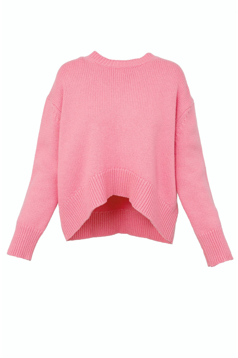 Olympia Oversize Pink Sweater