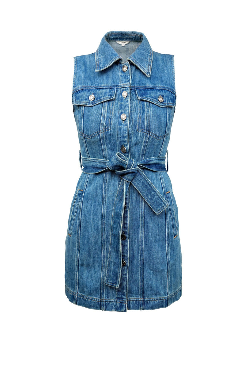 Rodeo Denim Mini Dress