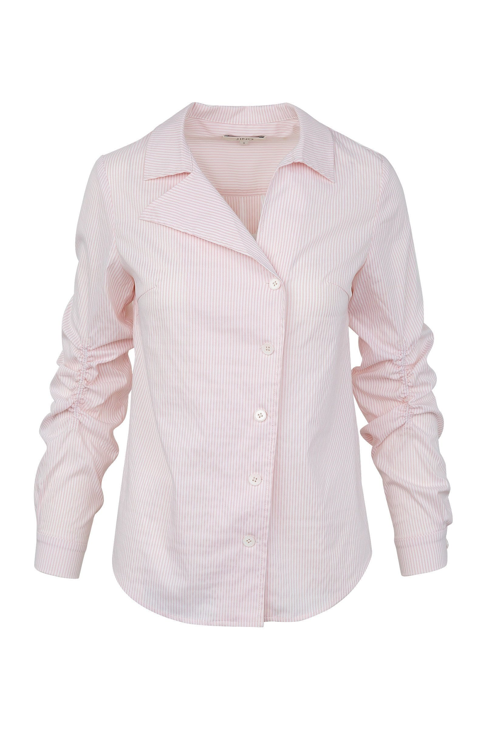Kelly Pink Asymmetrical Blouse