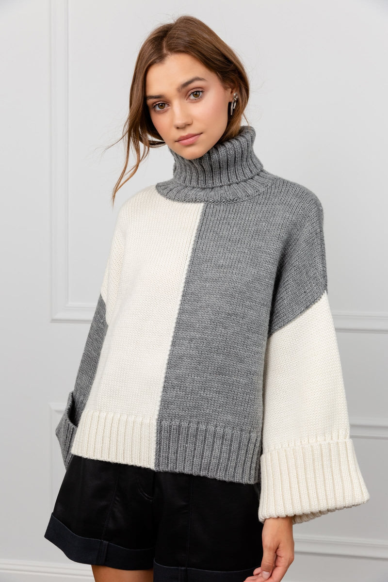 Color Blocker Sweater