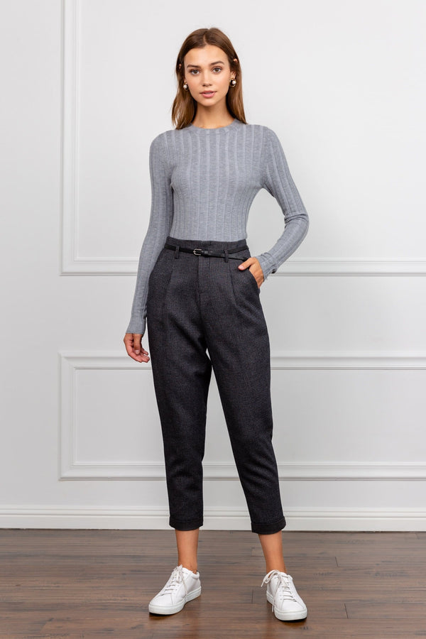 Charcoal Women's Work Pant | J.ING Women's Bottoms