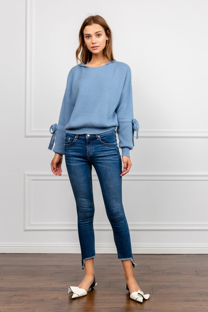 Dark Denim Cropped Jeans | J.ING Women's Pants