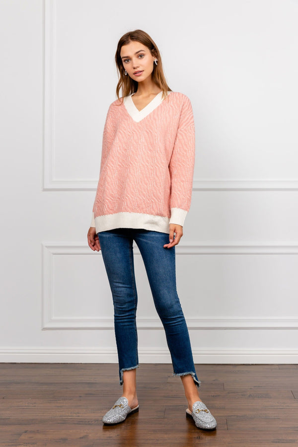 Jennifer Sweater Pink