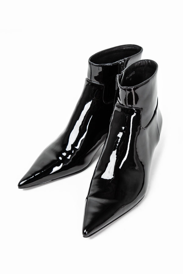 Bella Patent Ankle Boots in SHOES by J.ING - an L.A based women's fashion line