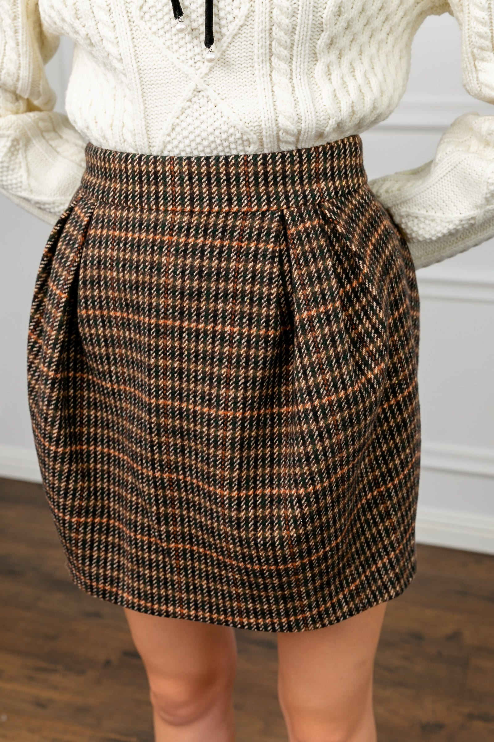 Charles Brown Balloon Skirt