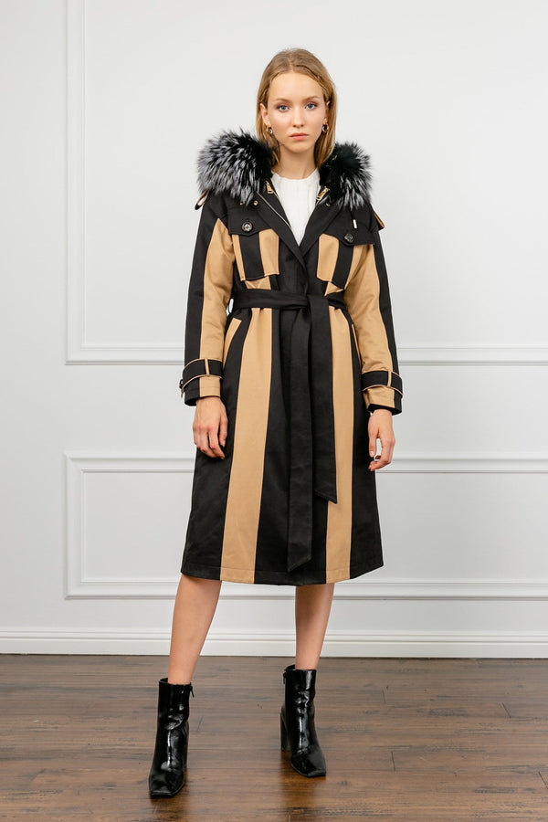 La Terra Long Hooded Coat