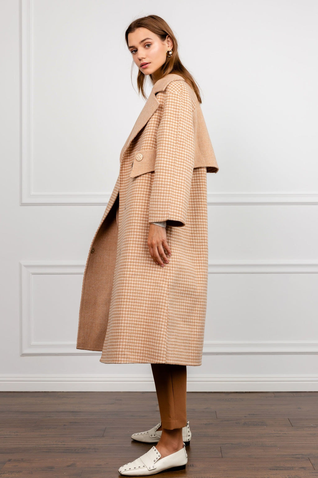 Birchwood Wool A-Line Coat