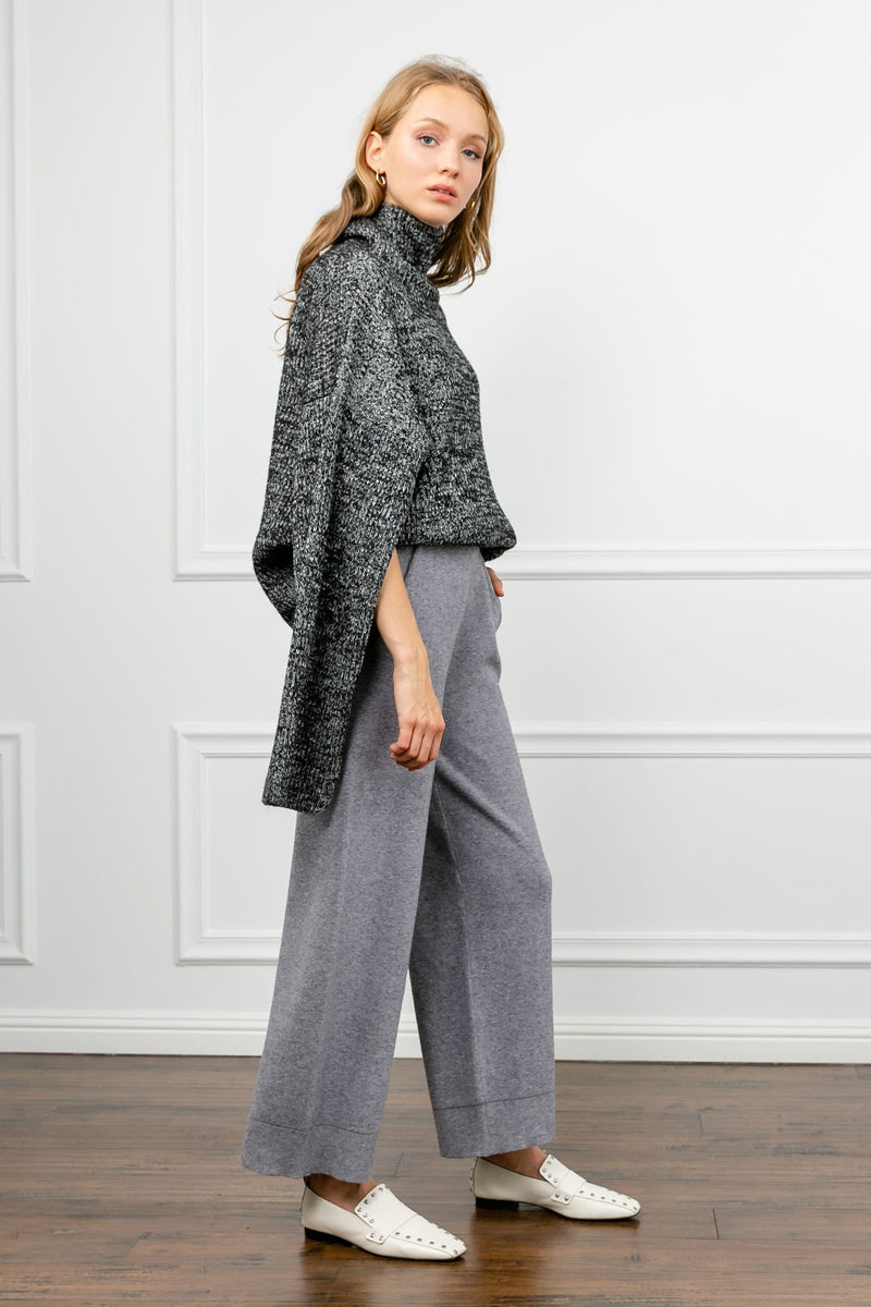 Jana Grey Wide Leg Pants