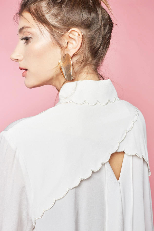 Jasmine Blouse in Tops by J.ING - an L.A based women's fashion line