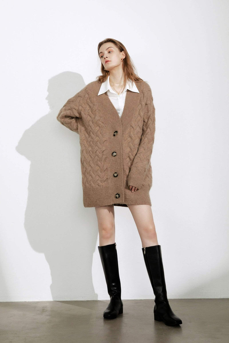 Jennie Tan Chunky Cardigan