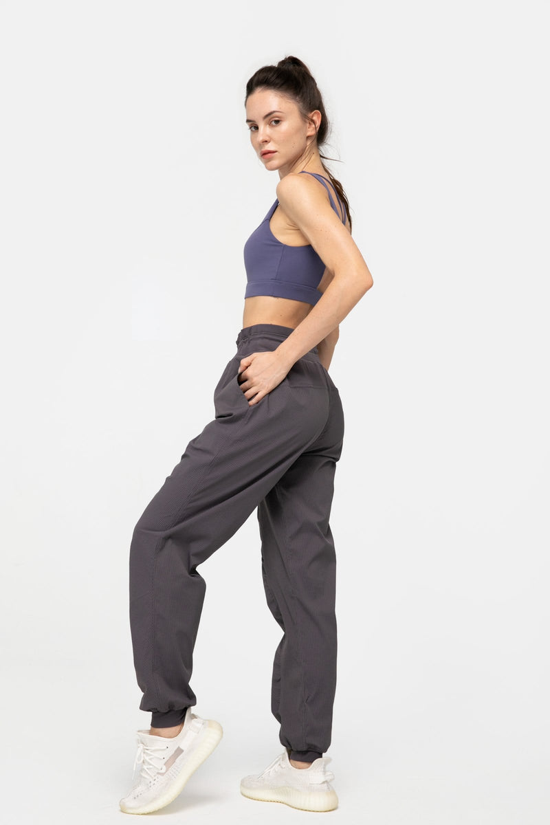 Charcoal Grey Slouchy Joggers