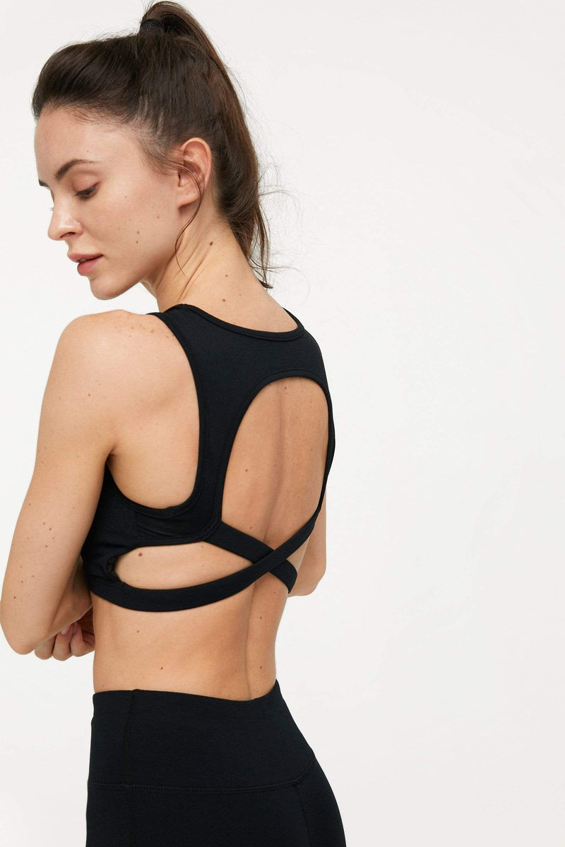 Carbon Black Mesh Yoga Set