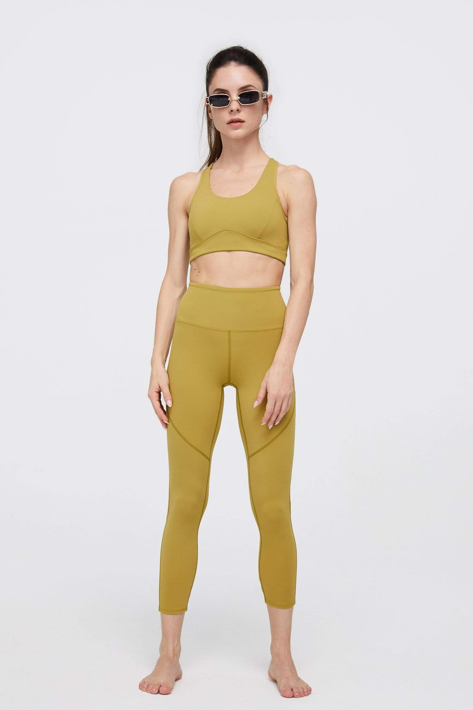 Citrus Lime High-Waist Vented Legging