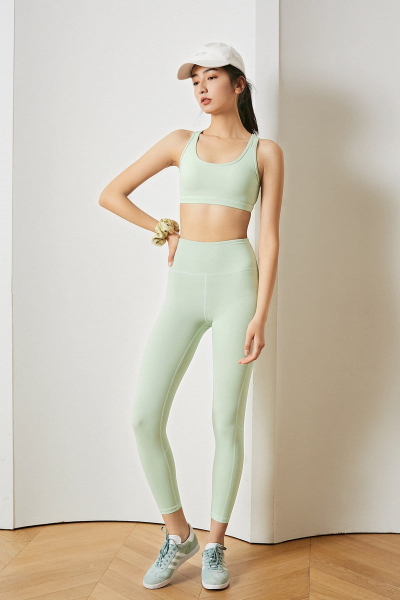 Mint High-Waist Leggings