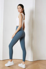Royal Blue High-Waist Leggings