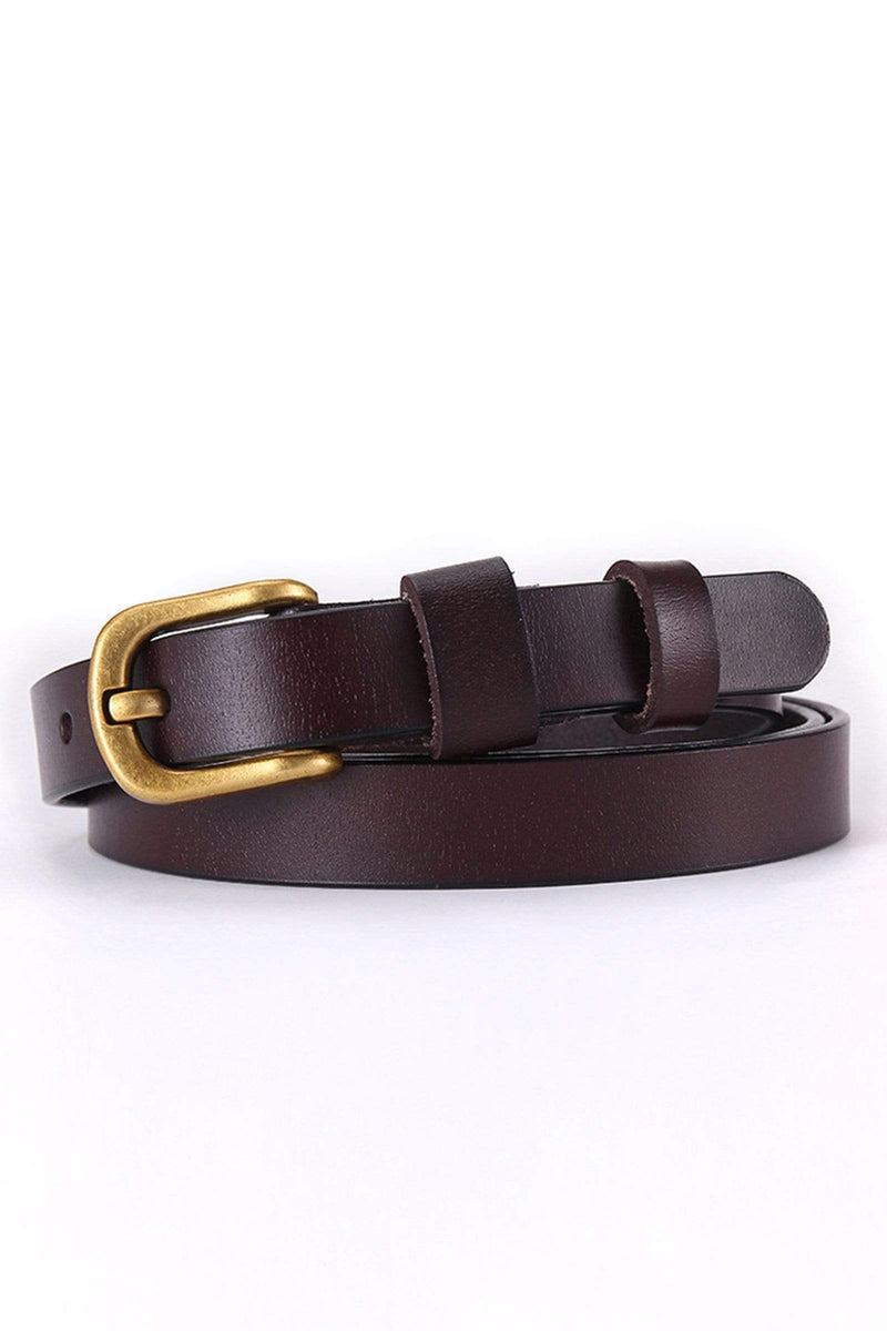 Classic Leather Brown Belt