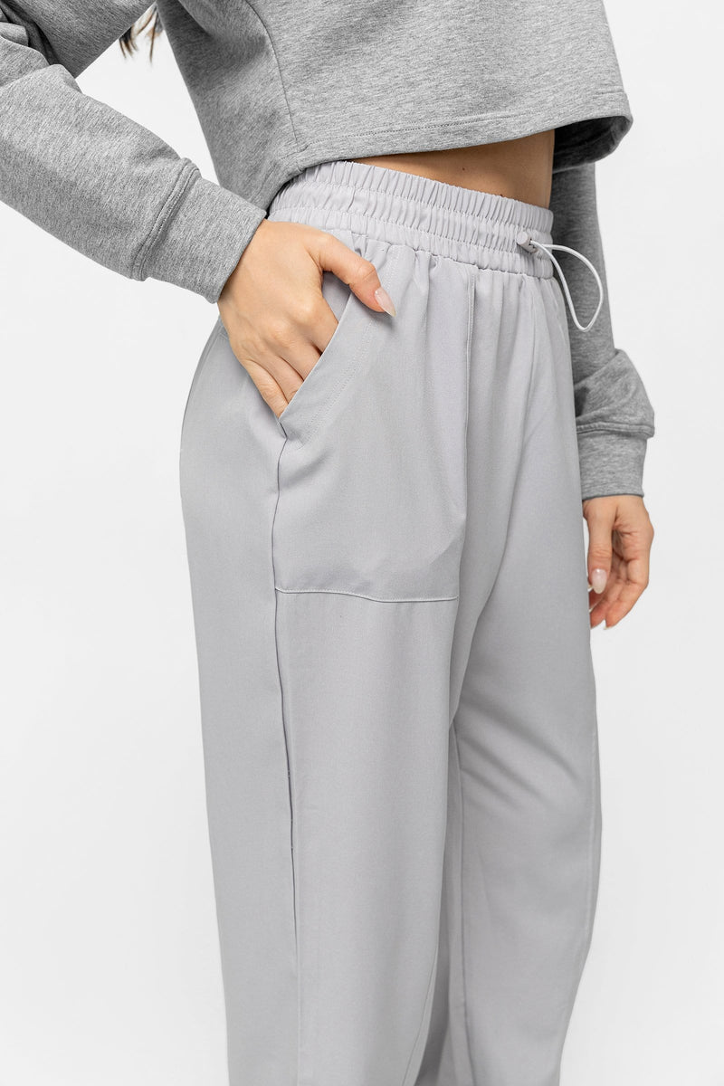 Ice Grey Light Joggers