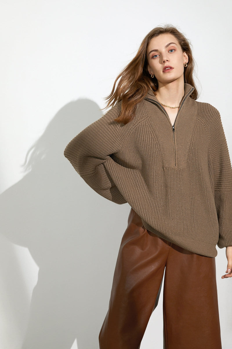 Cozy Teddy Oversized Sweater