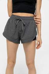 Charcoal Grey Running Shorts