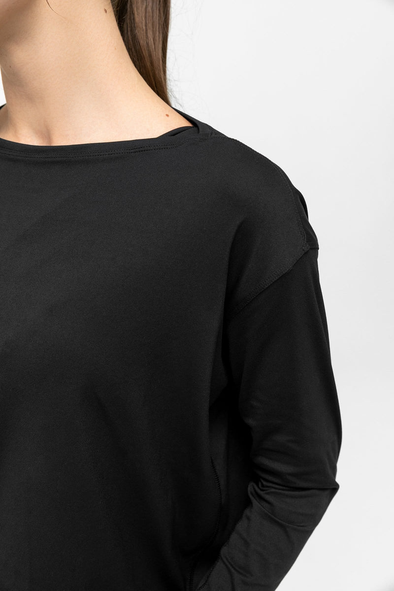 Carbon Black Crew Neck T-Shirt