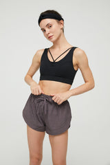 Smoky Violet Running Shorts