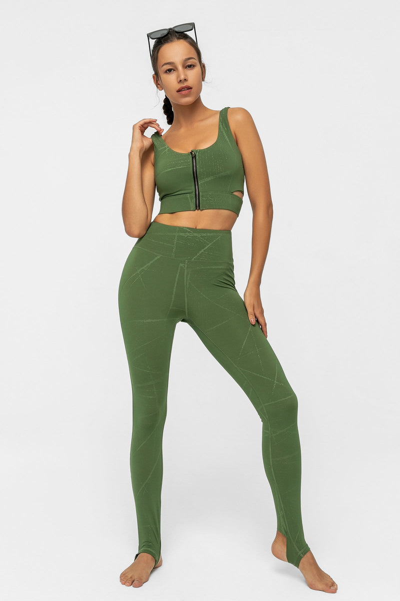 Forest Green Ballerina Legging