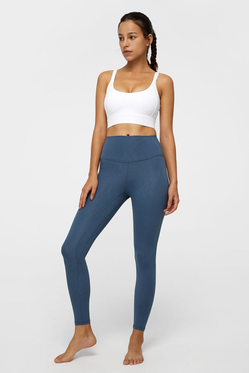 Core Blue Brushed Leggings
