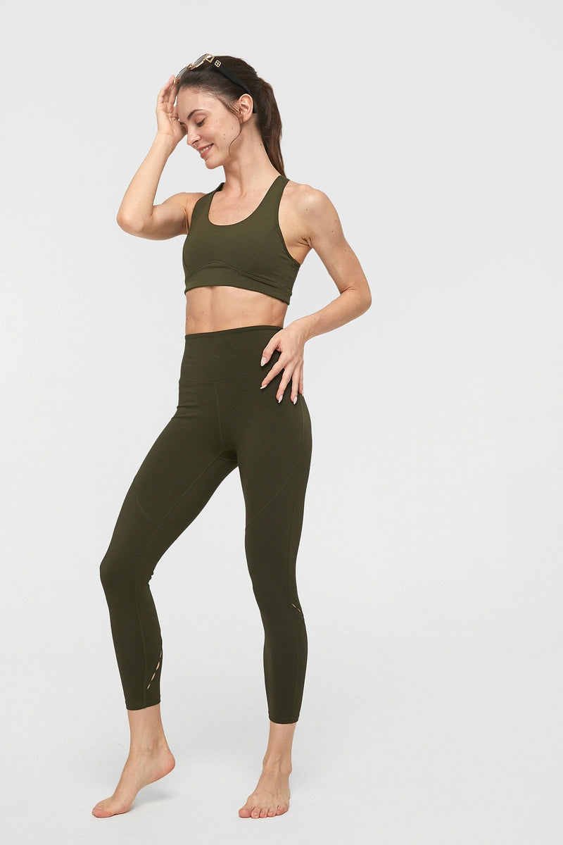 Mountain Olive High-Waist Vented Legging