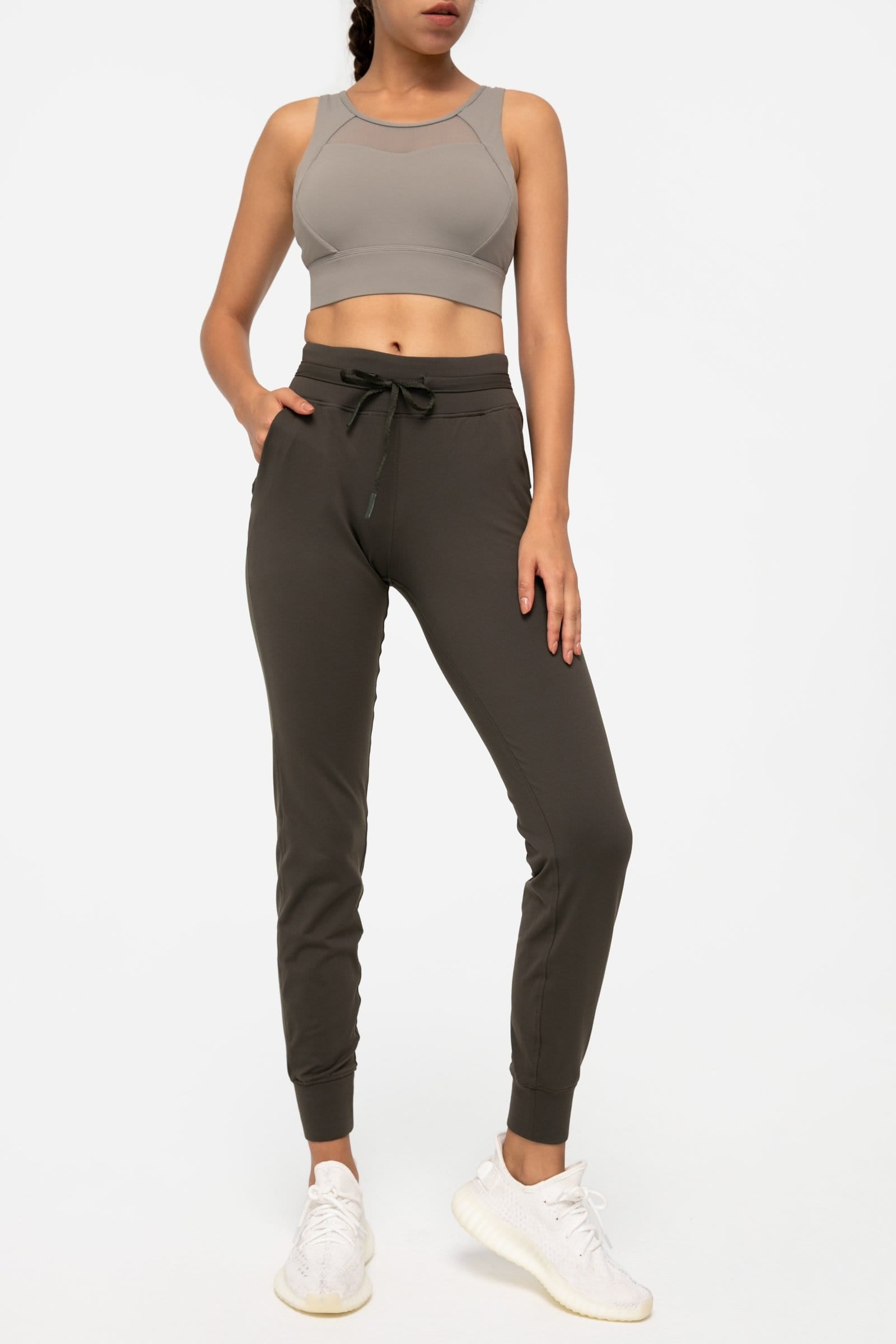 Mountain Olive Slim Joggers