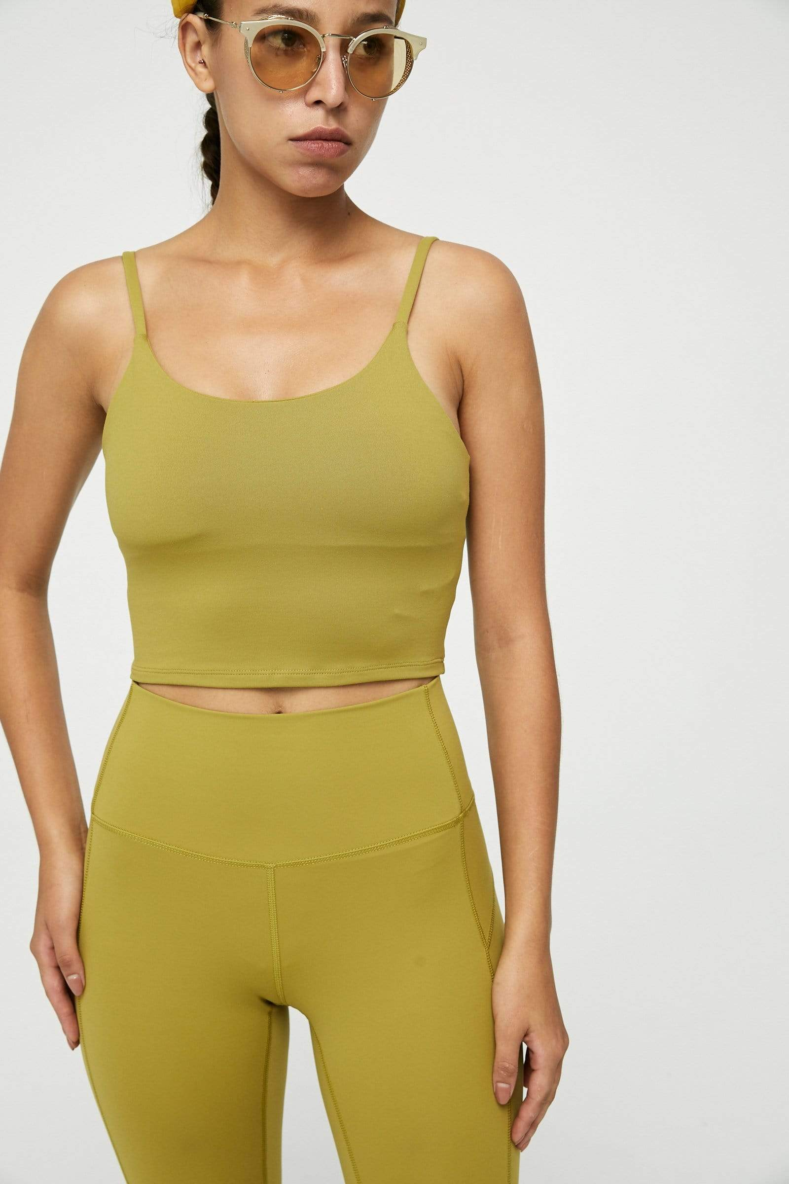 Citrus Lime Active Crop Tank
