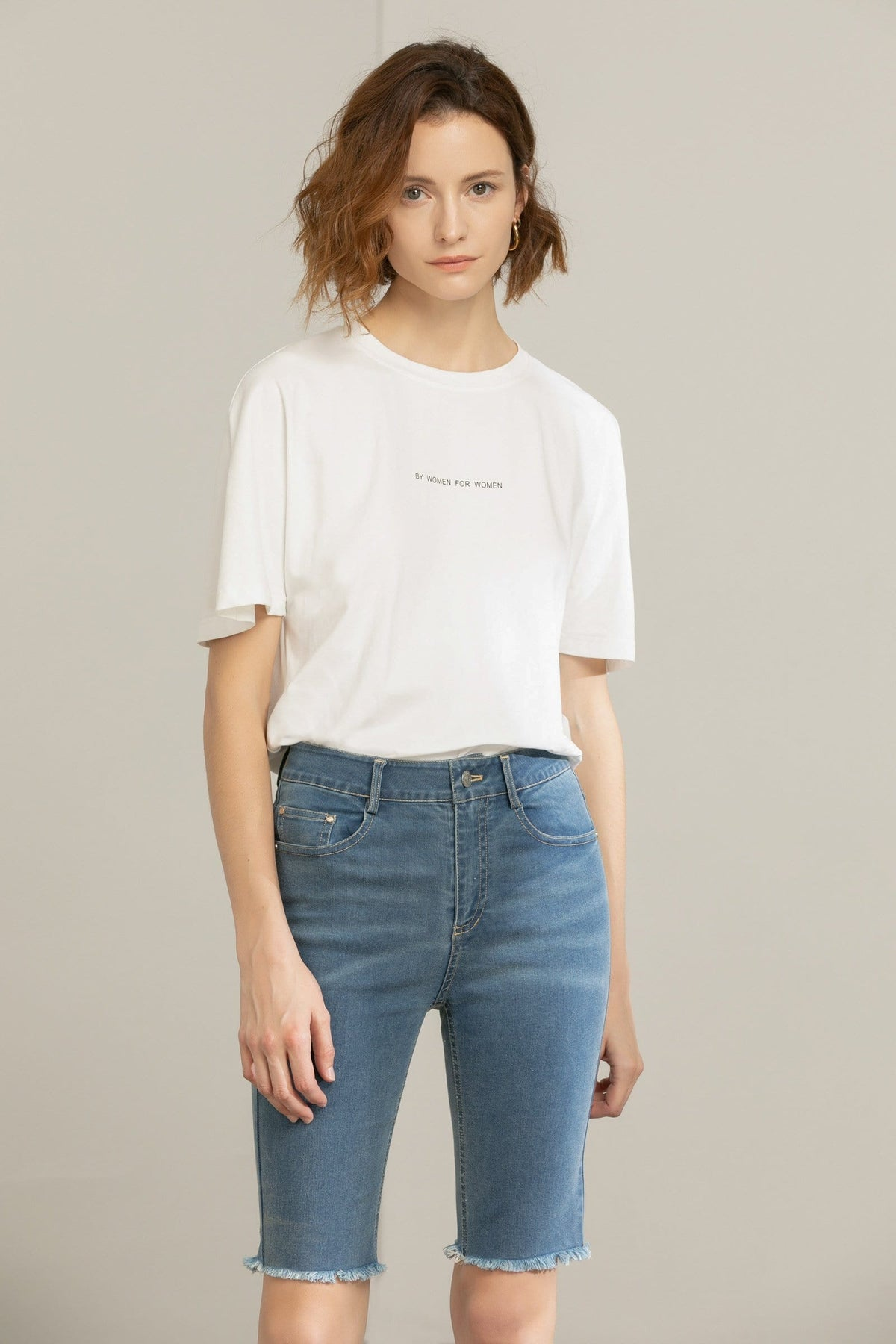 Oversize Boyfriend Tee in White
