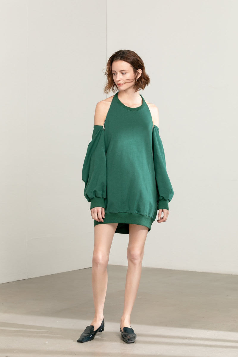 Molly Green Sweater Dress