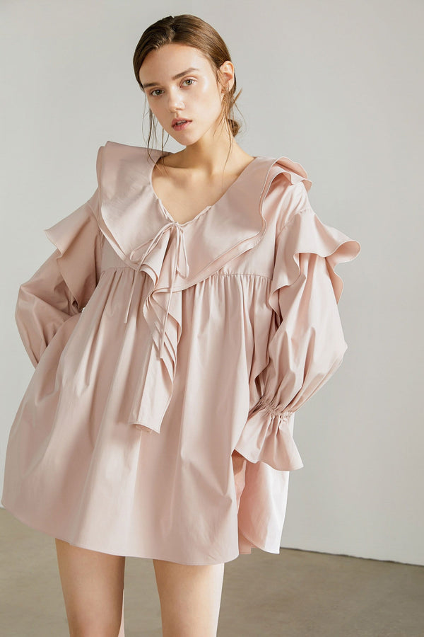 Peony Pink Mini Dress by J.ING Women's Apparel
