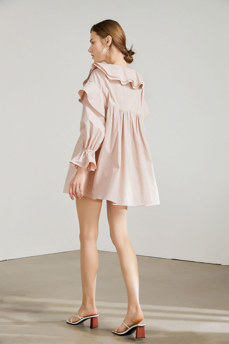 Peony Pink Mini Dress