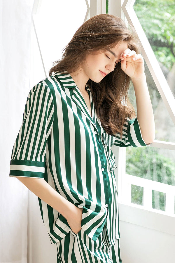 Lisette Green Sleep Shirt