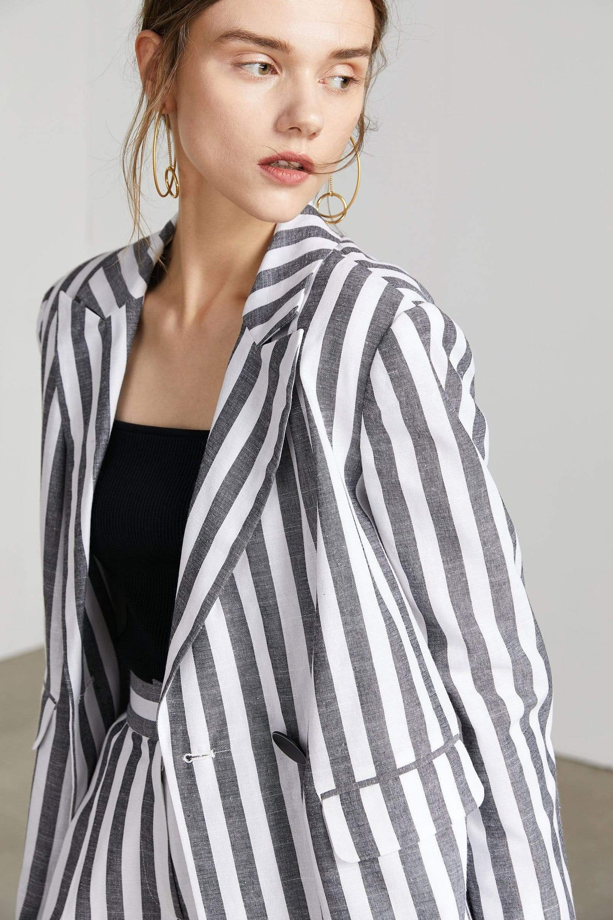 Venice Casual Striped Blazer