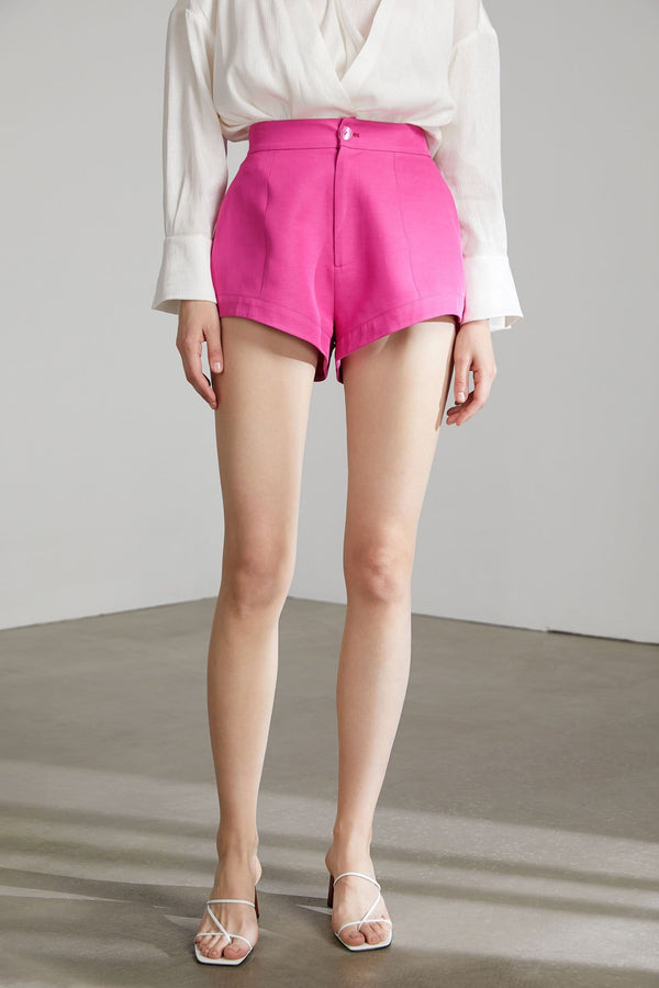 Chevonne Hot Pink Shorts