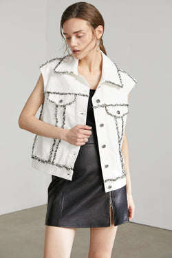 Bonnie White Denim Jacket