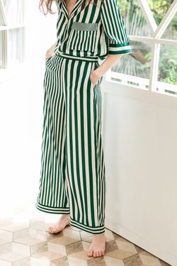 Lisette Green Pajama Pants