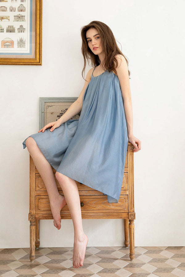 Nicolette Blue Night Dress