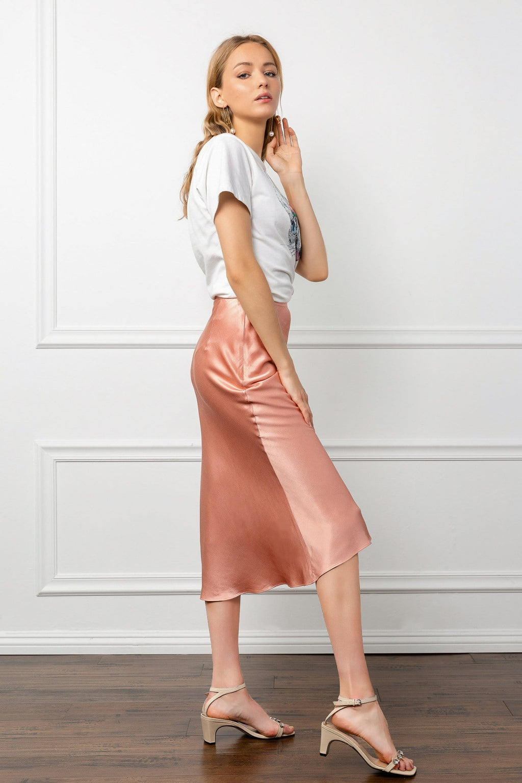 Peachy Pearl Skirt