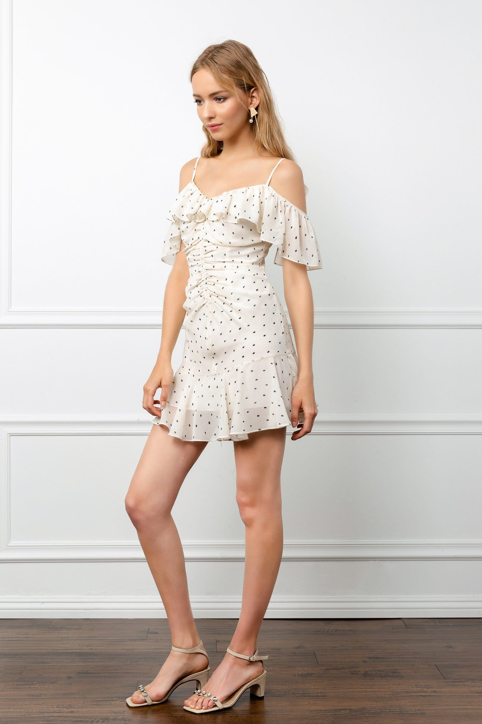 Ruched Rosaline Dress