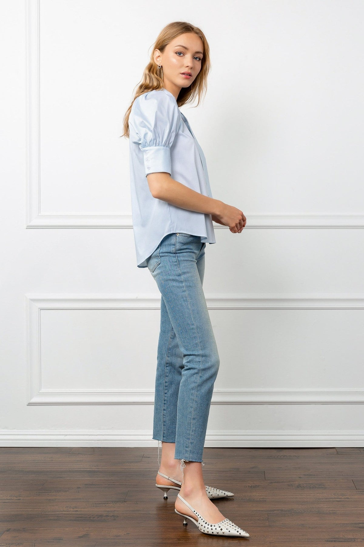 Elliott Blue Blouse