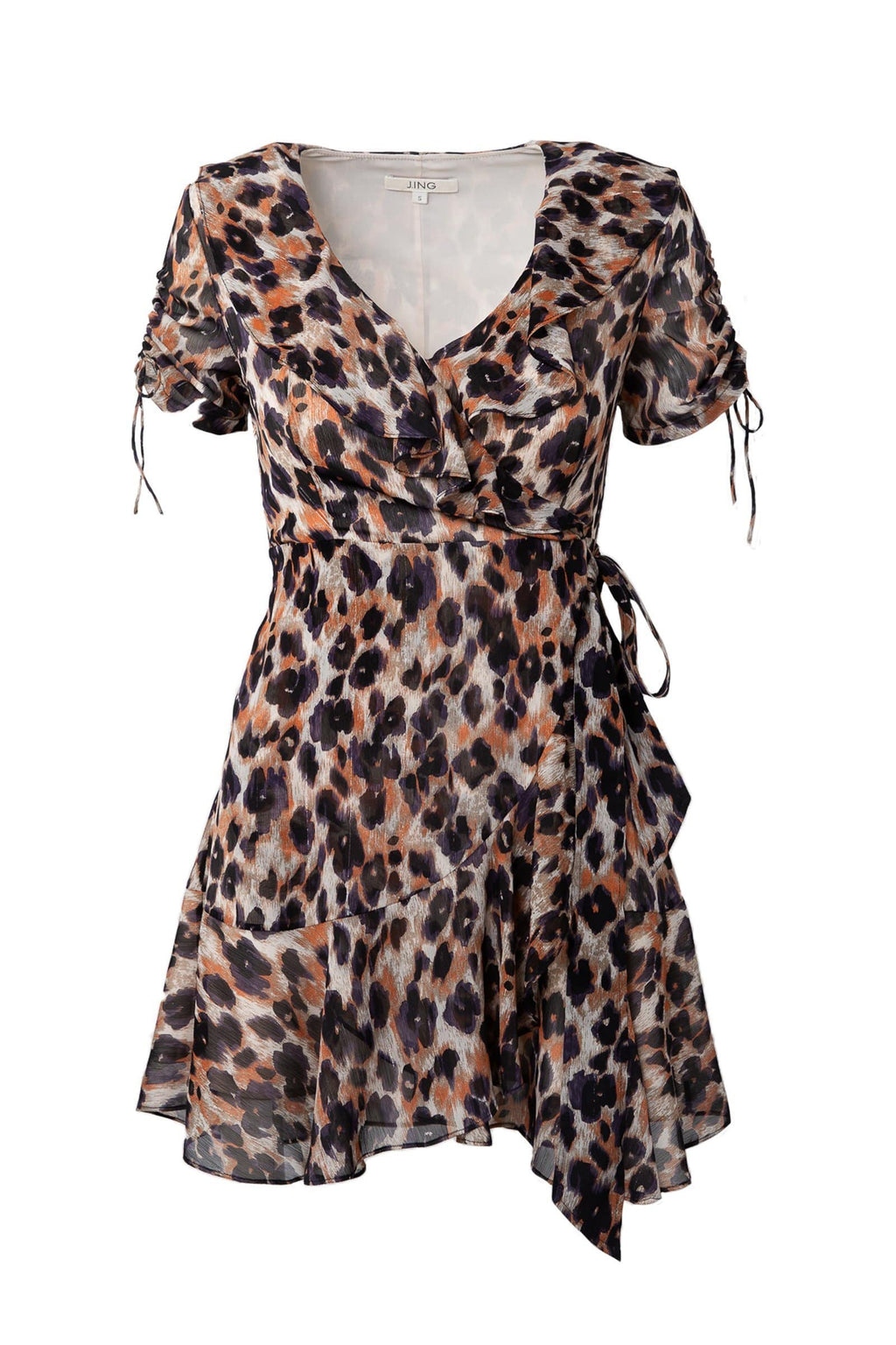 Wildcat Wrap Dress by J.ING women's clothing