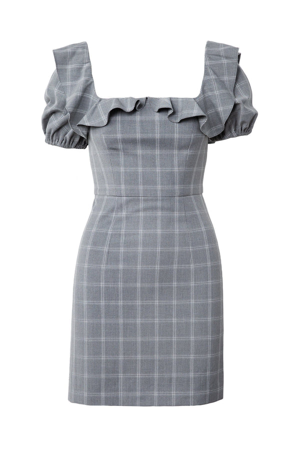 Petunia Plaid Dress