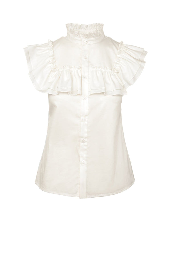 Edie Ruffled Blouse